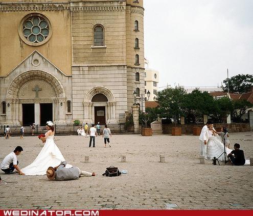 bride church funny wedding photos wedding photographer - 5178913024