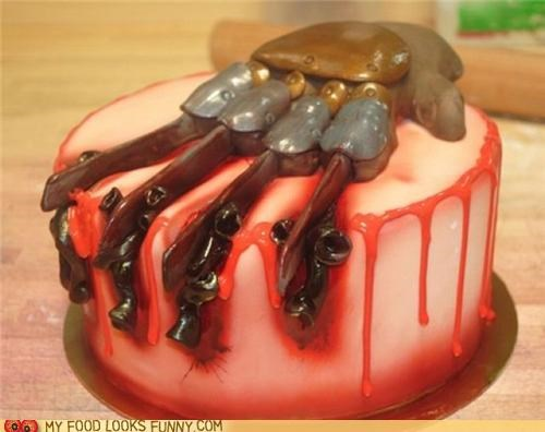 cake claws freddy krueger glove nightmare on elm street