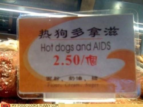 aids,chinese,deal,hot dogs