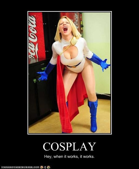 cosplay lady bags power girl Super-Lols - 5179665152