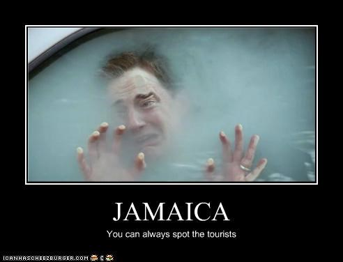 JAMAICA You can always spot the tourists