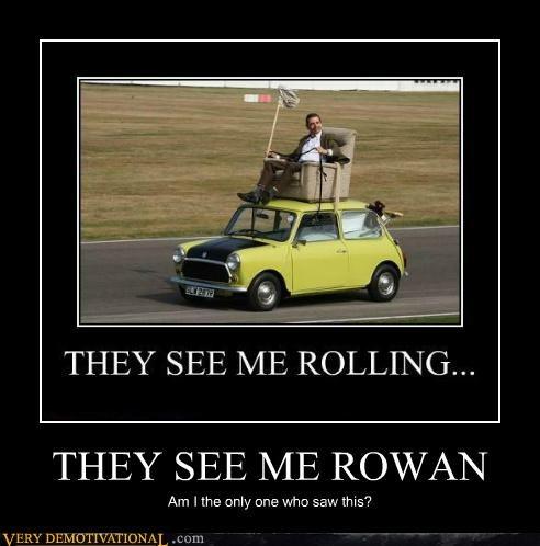 hilarious,mr-bean,rolling,rowan atkinson