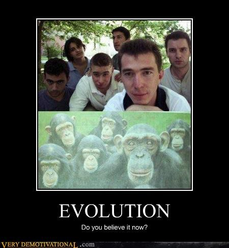 evolution hilarious monkey people - 5180462080