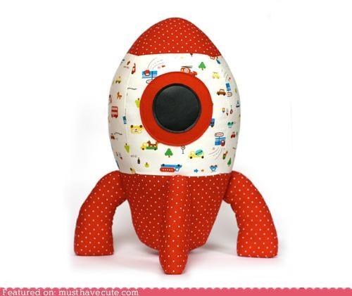 craft DIY pattern rocket sewing spaceship