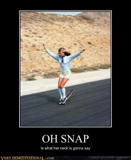 hilarious injury skateboard snap wtf - 5180553216