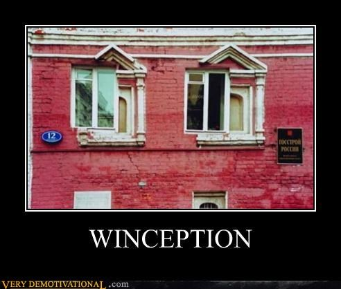 building hilarious Inception windows