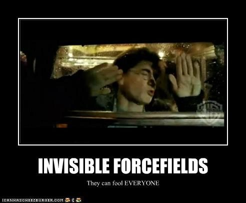 INVISIBLE FORCEFIELDS They can fool EVERYONE