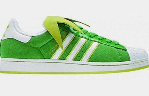 Adidas Superstar II kermit the frog Kickass Kicks