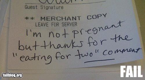 customer service failboat g rated pregnant restaurant - 5180858368