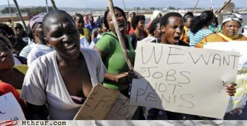 jobs p33n Protest unemployment