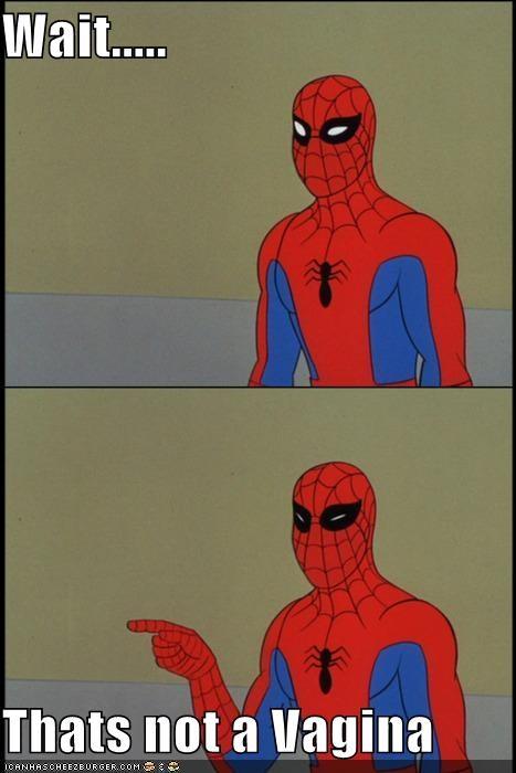 Spider-Man Super-Lols vagina wtf - 5181357312