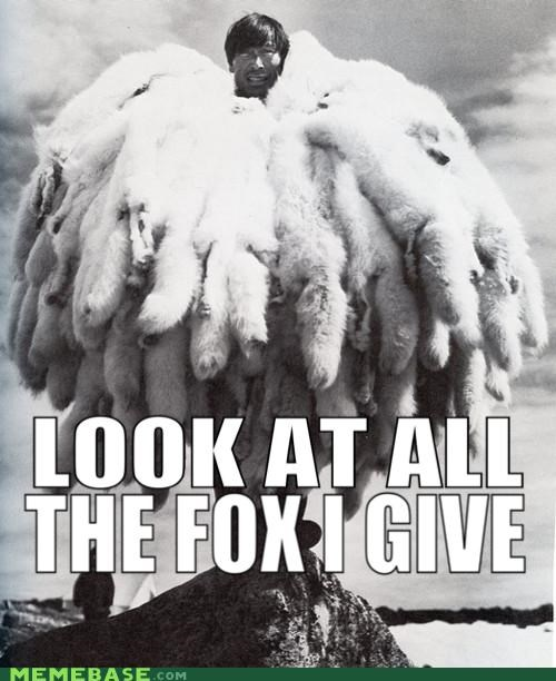fox fur give Japan kanye west Memes power - 5181365248