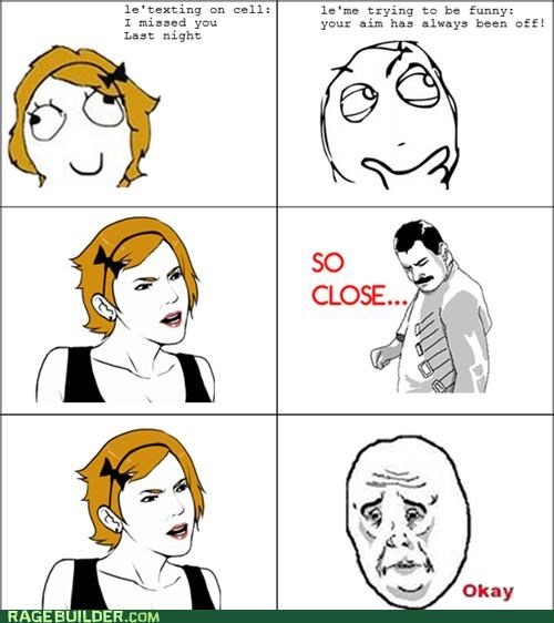 FAIL funny Okay Rage Comics so close witty - 5181389056