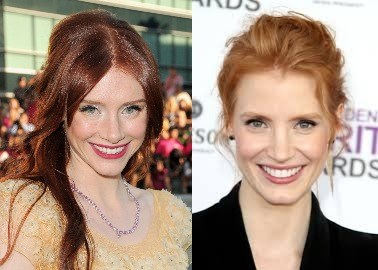 instagram Jessica Chastain Bryce Dallas Howard different people - 518149