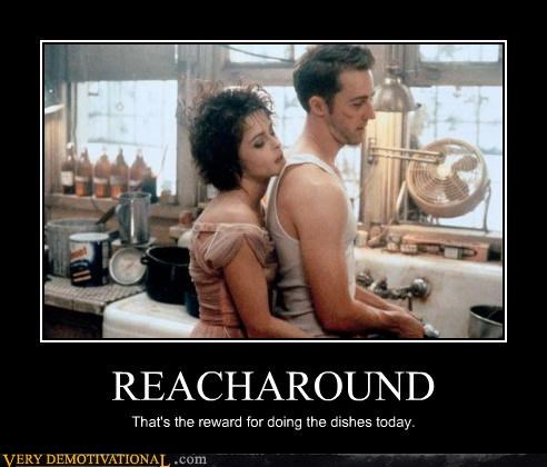 dishes,fight club,hilarious,reacharound
