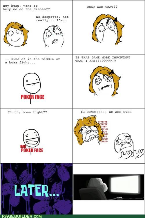 boss fight,Rage Comics,relationships,video game