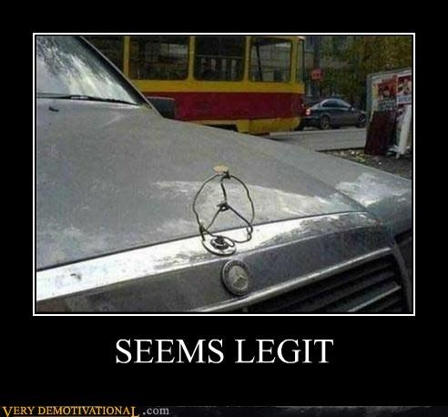 car hilarious mercedes seems legit