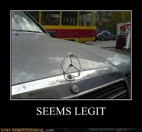 car hilarious mercedes seems legit - 5181916416