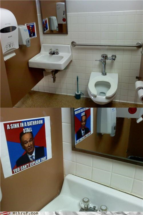 bathroom,bill-oreilly,meme,monday memes