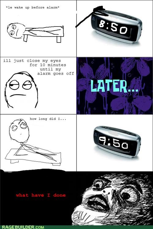 alarm clock Rage Comics time - 5182267648