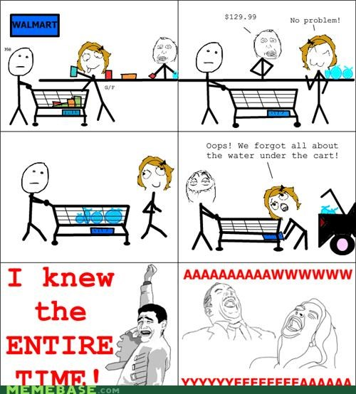 aww yeah,Rage Comics,theft,water