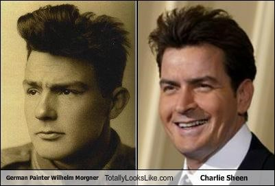 actors artists Charlie Sheen painters wilhelm morgner winning - 5182333952