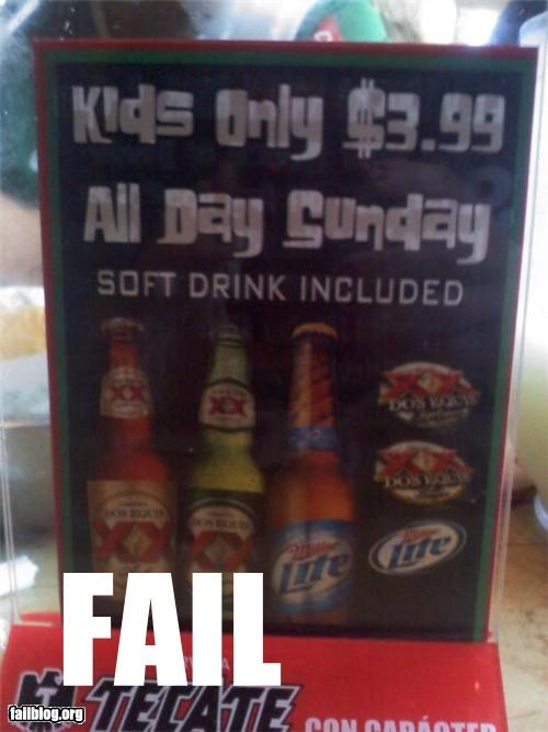beer failboat g rated not for kids Professional At Work promotion signs - 5182446080