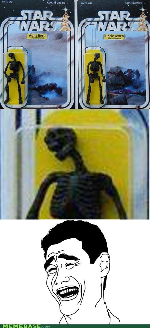 beru movies owen prequels Rage Comics skeleton star wars - 5182507008