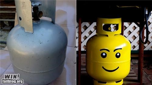 barbecue grill hacked hacked irl hank hill lego modification propane summer - 5182508288
