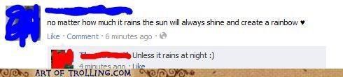 facebook rain rainbow sun - 5182764544
