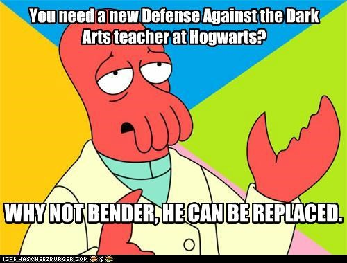 Harry Potter Hogwarts magic voldemort Why Not Zoidberg - 5182984192