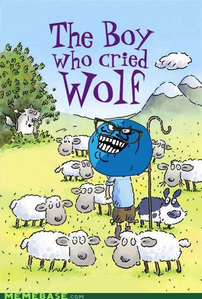 boy fables hipster i cried i lied wolf - 5183100416