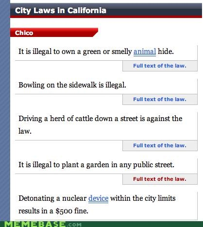bowling,dumb,garden,laws,nuke,smelly