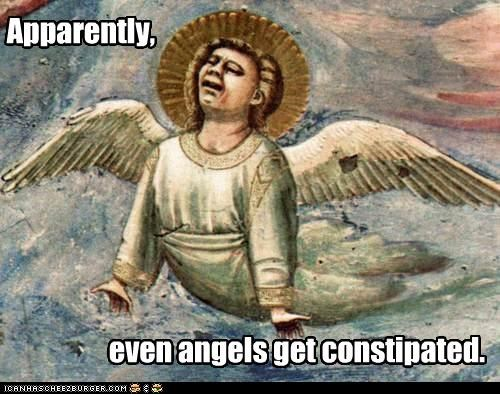 angels,constipated,historic lols,paintings