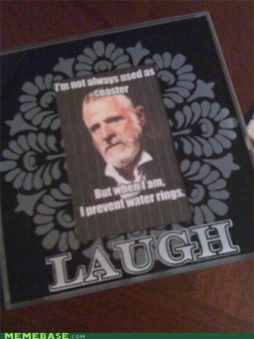 awesome,beer,coaster,ideas,ink,rings,the most interesting man in the world,water