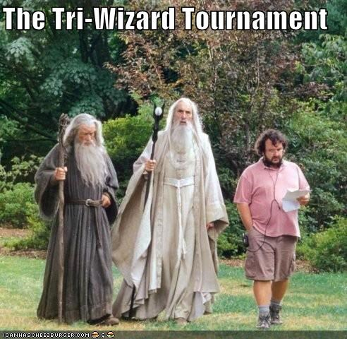 The Tri-Wizard Tournament