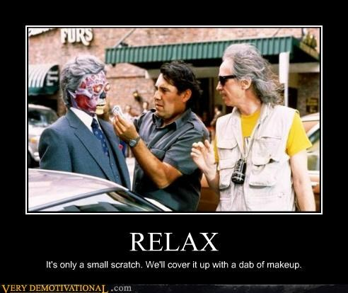 hilarious,john carpenter,relax,scratch,they live