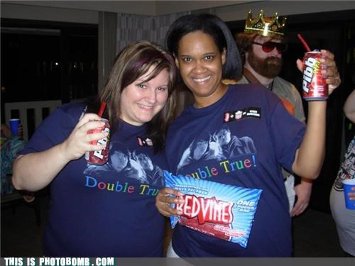 burger king celeb double true Good Times Party redvines the king Zach Galifianakis - 5184100352