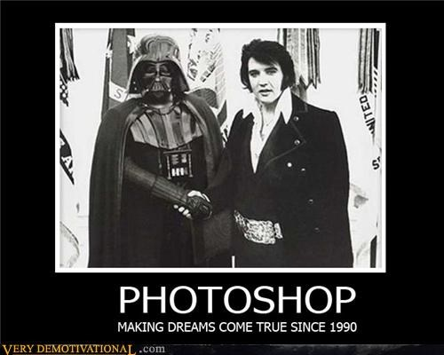dreams Elvis hilarious photoshop vader - 5184285952