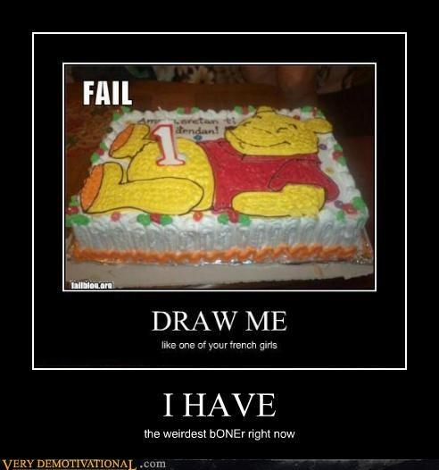 cake candle hilarious Weirdest Boner winnie the pooh - 5184663040