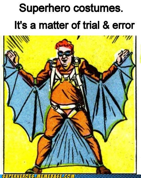 costume error flying suit Random Heroics superhero trial - 5184799744