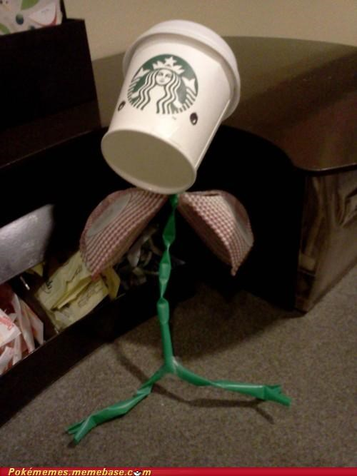 art,bellsprout,cool,creation,Starbucks