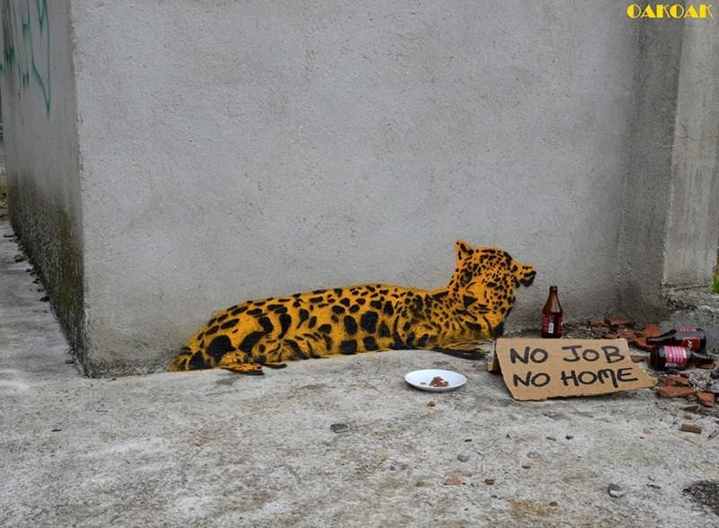 Street Art art animals - 5185029