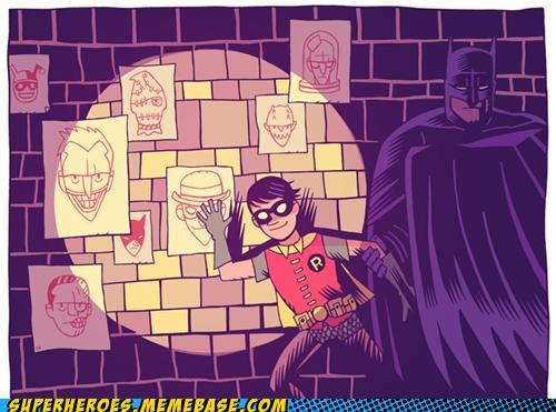 amazing Awesome Art batman mr hipp robin - 5185050112