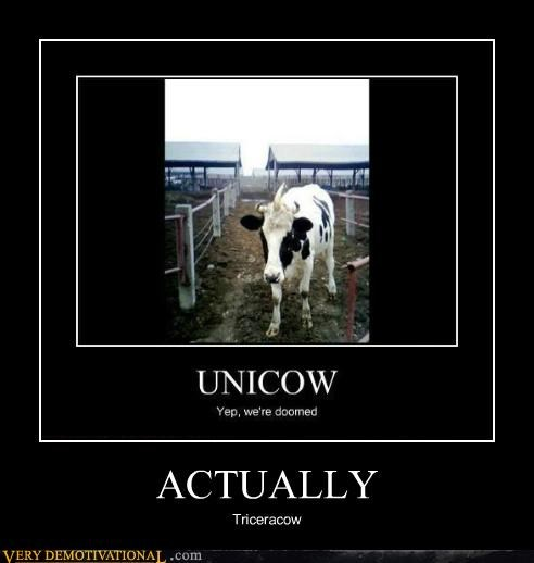 actually cow hilarious triceratops - 5185065984