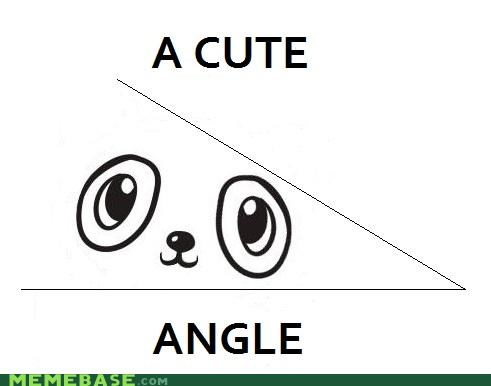 acute,angle,cute,double meaning,homophone,homophones,literalism,space