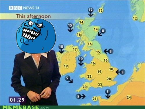 england forecast i lied right Sad weather