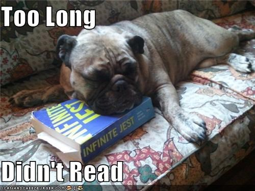 asleep author book boring bulldog David Foster Wallace i has a hotdog infinite jest read reading sleep this sucks tired tldr - 5185278976