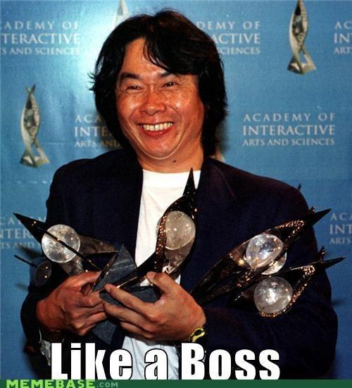 boss,Like a Boss,miyamoto,nintendo,shigeru