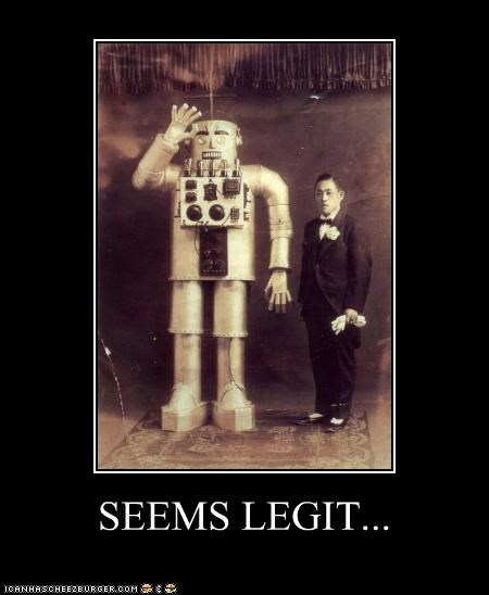 historic lols robots seems legit wtf